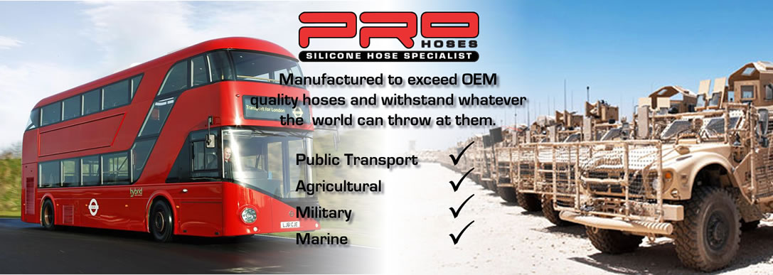 Pro Hoses Performance Silicone Hoses Transport