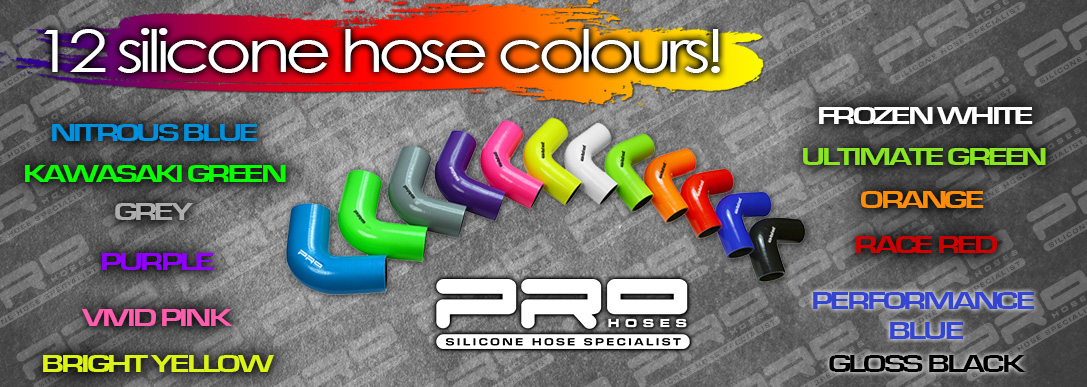 Pro Hoses - Silicone hose specialists - Car silicone hoses